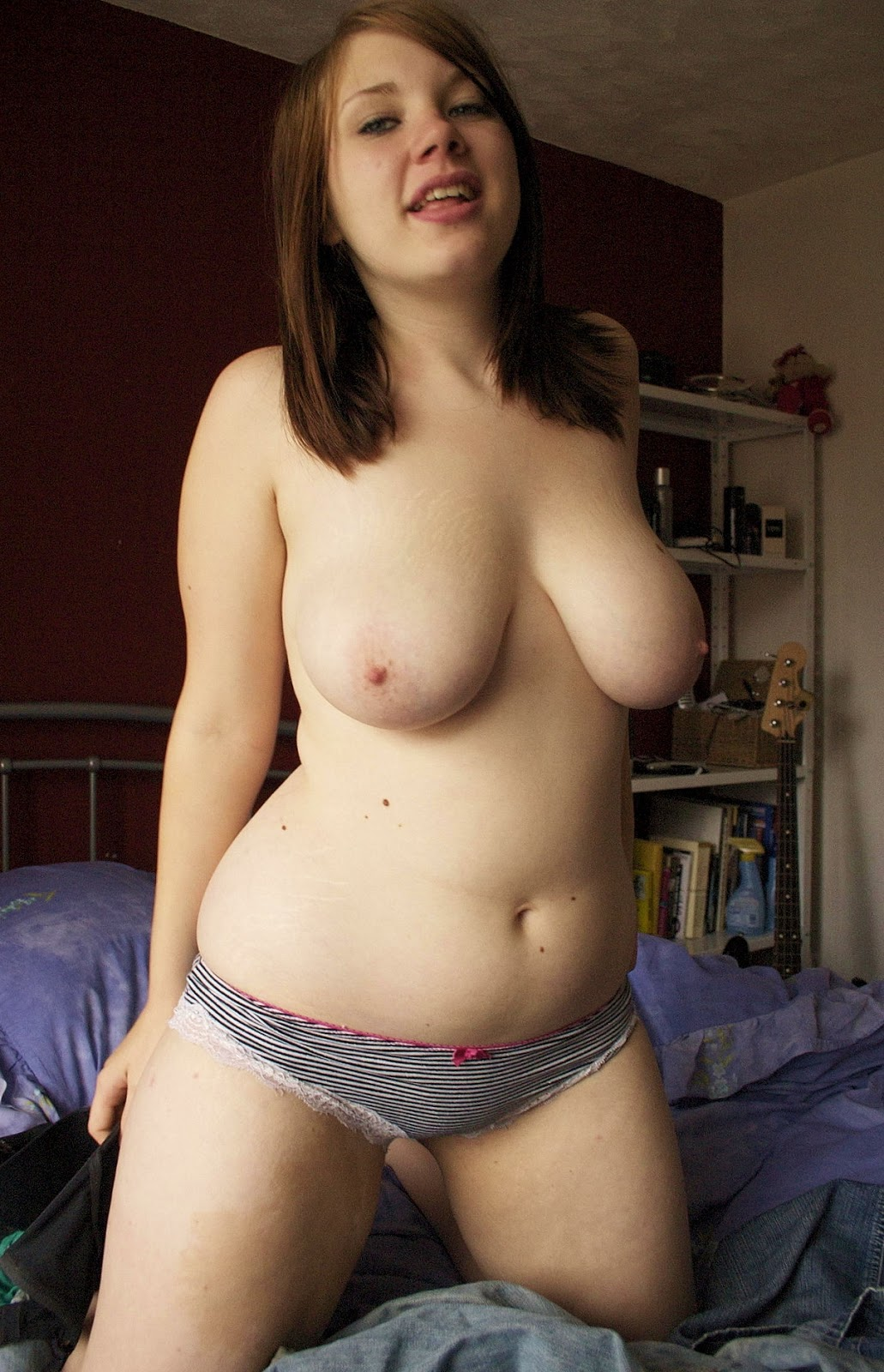 normal sized women naked