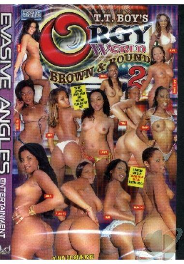 round and brown orgy