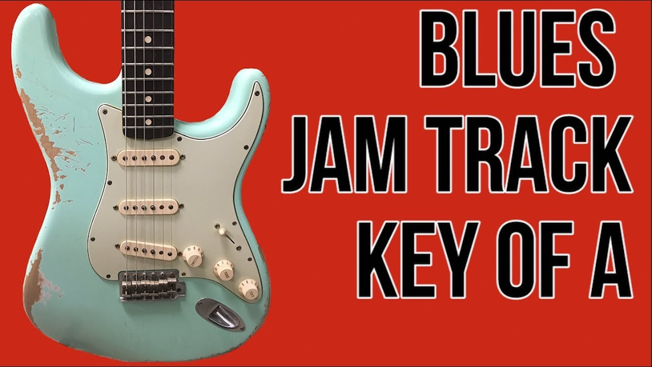 backing track in a blues